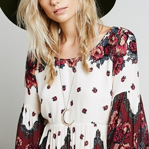 Free People Falling Tapestry Dress